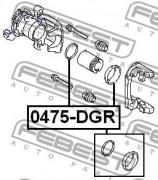Ремкомплект супорта FEBEST 0475-DGR
