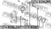 Ремкомплект суппорта FEBEST 1275-SONF