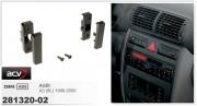 Переходная рамка ACV 281320-02 для Audi A3 (8L) 1996-2000, 1DIN