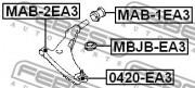 Шаровая опора FEBEST 0420-EA3