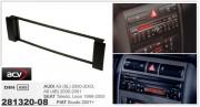 Переходная рамка ACV 281320-08 для Seat Toledo, Leon / Audi A3 (8L), A6 (4B) / Fiat Scudo, 1DIN