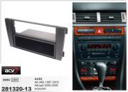 Переходная рамка ACV 281320-13 для Audi A6 (4B) 1997-2005, Allroad 2000-2006, 2DIN / 1DIN