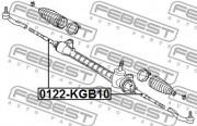 Рулевая тяга FEBEST 0122-KGB10