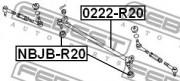 Рулевая тяга FEBEST 0222-R20