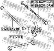 Рычаг подвески FEBEST 0125-141