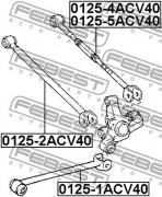 Рычаг подвески FEBEST 0125-5ACV40