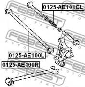 Рычаг подвески FEBEST 0125-AE101CL