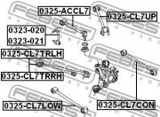 Важіль підвіски FEBEST 0325-ACCL7