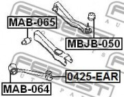 Рычаг подвески FEBEST 0425-EAR