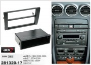 Переходная рамка ACV 281320-17 для Audi A4 (B6) 2000-2006, A4 (B7) 2004-2009 / Seat Exeo 2009+, 2DIN / 1DIN