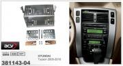 Переходная рамка ACV 381143-04 для Hyundai Tucson 2005-2010, 2DIN