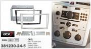 Переходная рамка ACV 381230-24-5 для Opel Astra H 2004-2010, Antara 2006+, Corsa D 2006+, Zafira B 2005-2012, 2DIN