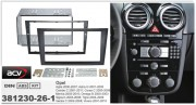 Переходная рамка ACV 381230-26-1 для Opel Agila, Astra, Combo C, Corsa, Meriva, Omega B, Signum, Tigra, Vectra C, Vivaro, 2DIN