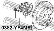 Ступица колеса FEBEST 0382-YF4MR