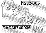 Ступица колеса FEBEST 1282-005