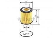 Масляный фильтр BOSCH F 026 407 166