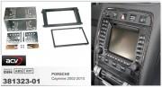 Переходная рамка ACV 381323-01 для Porsche Cayenne 2002-2010, 2DIN