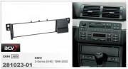 Переходная рамка ACV 281023-01 для BMW 3 серии (E46) 1998-2005, 1DIN