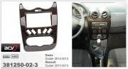 Переходная рамка ACV 381250-02-3 для Dacia Duster, Renault Duster (2010-2013), 2DIN