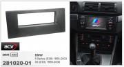 Переходная рамка ACV 281020-01 для BMW 5 серии (E39) 1995-2003, X5 (E53) 1999-2006, 1DIN