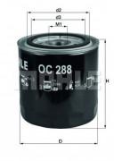 Масляный фильтр MAHLE OC288