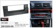 Переходная рамка ACV 281020-06 для BMW X5 (E53) 1999-2006, 5 серии (E39) 1995-2003, 1DIN (без компьютера)