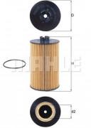 Масляный фильтр MAHLE OX161D