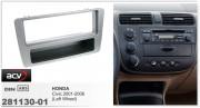 Переходная рамка ACV 281130-01 для Honda Civic 2001-2006, 1DIN