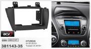Переходная рамка ACV 381143-35 для Hyundai ix35 2010+, Tucson ix 2010+, 2DIN