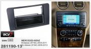 Переходная рамка ACV 281190-13 для Mercedes GL-класса (X164) 2006-2012, M-класса (W164) 2005-2011, 2DIN / 1DIN