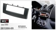 Переходная рамка ACV 281200-05 для Mitsubishi Colt 2008-2012, 1DIN