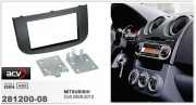Переходная рамка ACV 281200-08 для Mitsubishi Colt 2008-2012, 2DIN / 1DIN