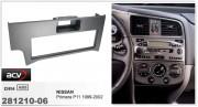 Переходная рамка ACV 281210-06 для Nissan Primera (P11) 1999-2002, 1DIN