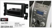 Переходная рамка ACV 281294-02 для Suzuki Escudo 2005+, Grand Vitara 2005+, 2DIN / 1DIN