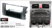 Переходная рамка ACV 281300-13-1 для Toyota Auris 2006-2012, 2DIN / 1DIN