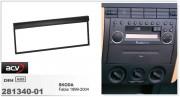 Переходная рамка ACV 281340-01 для Skoda Fabia 1999-2004, 1DIN