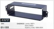 Монтажная шахта AWM 01-155 для Daewoo Sens 2000+, Lanos 1997+, Nubira (J150) 1999-2004, 1DIN