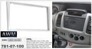 Переходная рамка AWM 781-07-100 для Opel Vivaro, Agila, Vectra, Astra, Tigra, Combo, Signum, Corsa, Omega, Meriva, 2DIN