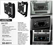Переходная рамка Metra 95-6511 для Chrysler / Jeep / Dodge, 2DIN