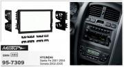 Переходная рамка Metra 95-7309 для Hyundai Sonata 2002-2005, Santa Fe 2001-2004, 2DIN