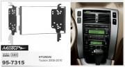Переходная рамка Metra 95-7315 для Hyundai Tucson 2005-2010, 2DIN