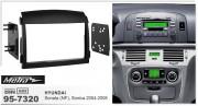 Переходная рамка Metra 95-7320 для Hyundai Sonata (NF) 2004-2008, Sonica 2004-2008, 2DIN