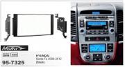 Переходная рамка Metra 95-7325 для Hyundai Santa Fe 2006-2012, 2DIN