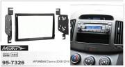 Переходная рамка Metra 95-7326 для Hyundai Elantra 2006-2010, 2DIN