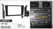 Переходная рамка Metra 95-8152 для Lexus GS300, GS400 (1997-2005), 2DIN