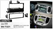 Переходная рамка Metra 99-7321 для Hyundai Accent, Kia Rio (2006-2009), 1DIN