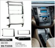 Переходная рамка Metra 99-7335S для Hyundai ix55 2008-2012, Veracruz 2007-2012, 2DIN / 1DIN