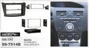 Переходная рамка Metra 99-7514B для Mazda 3, Axela (2009-2013), 2DIN / 1DIN