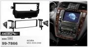 Переходная рамка Metra 99-7866 для Acura MDX 2000-2006, 1DIN