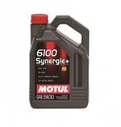 Моторное масло Motul 6100 Synergie+ 5W30